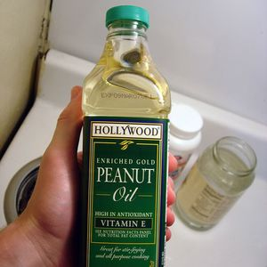 Medium 750px peanut oil bottle