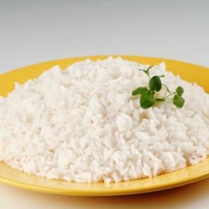 Medium arroz blanco