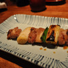 Thumb yakitori   chicken thigh and negi