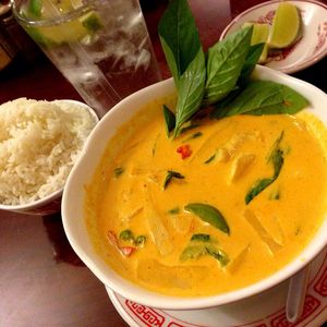 Medium vietnamese chicken coconut curry