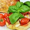 Thumb mmm... sauteed tomatoes and mozz with fresh basil and olive oil  6243832083