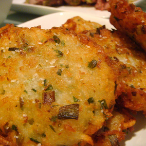 Medium potato latkes