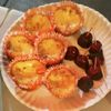 Thumb pie queso con cerezas