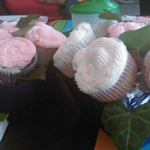 Medium maceta cupcake