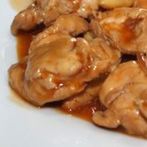 Medium pollo de almendras