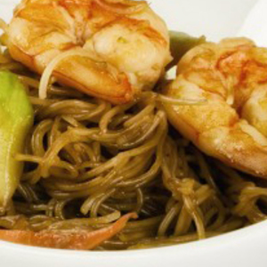 Medium noodles de arroz