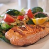 Thumb salmon dish food meal 46239 medium