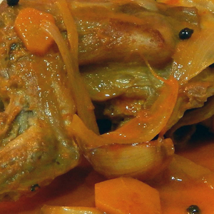 Medium conejo al escabeche