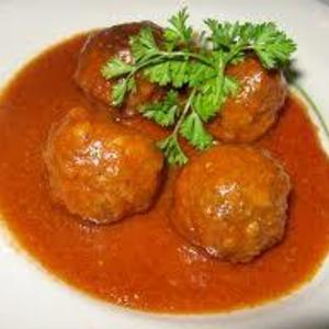 Medium 12 albondigas en salsa