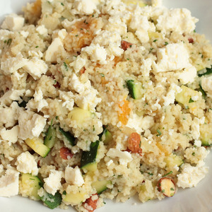 Medium zucchini couscous